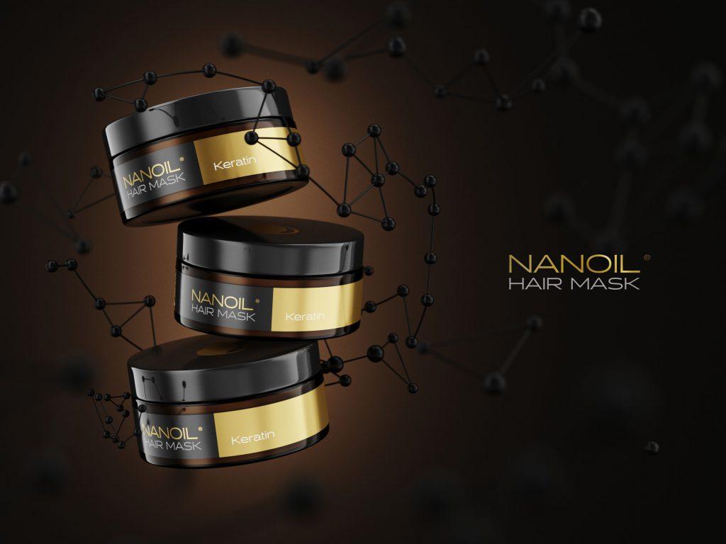 Nanoil melhores máscaras de queratina