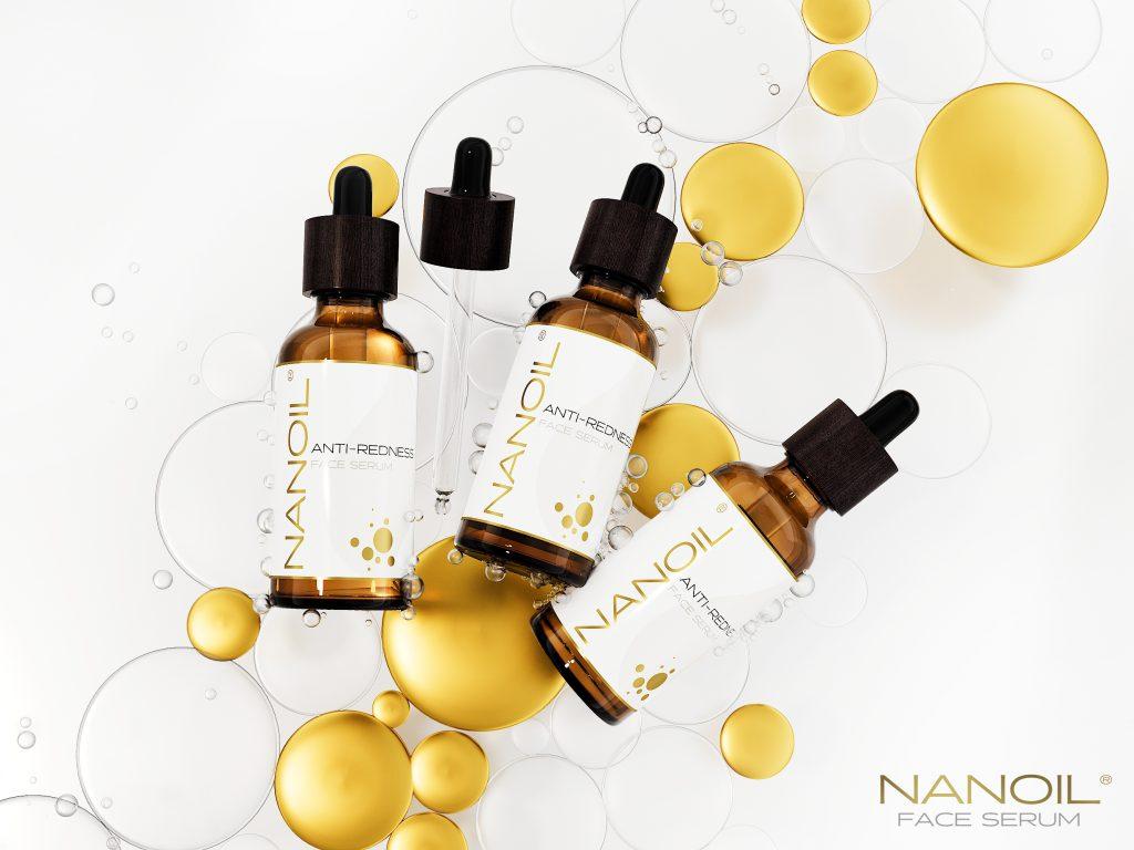melhores séruns faciais para pele sensível Nanoil