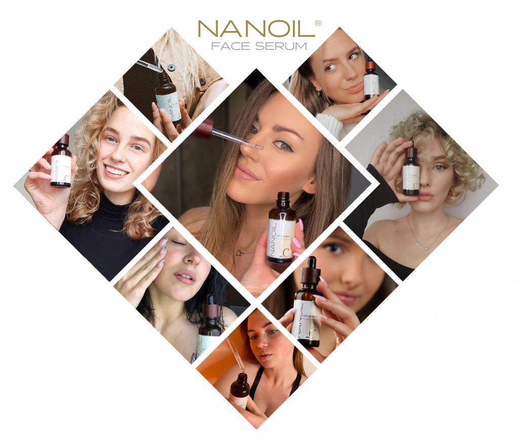 Nanoil sérum facial de vitamina c de qualidade
